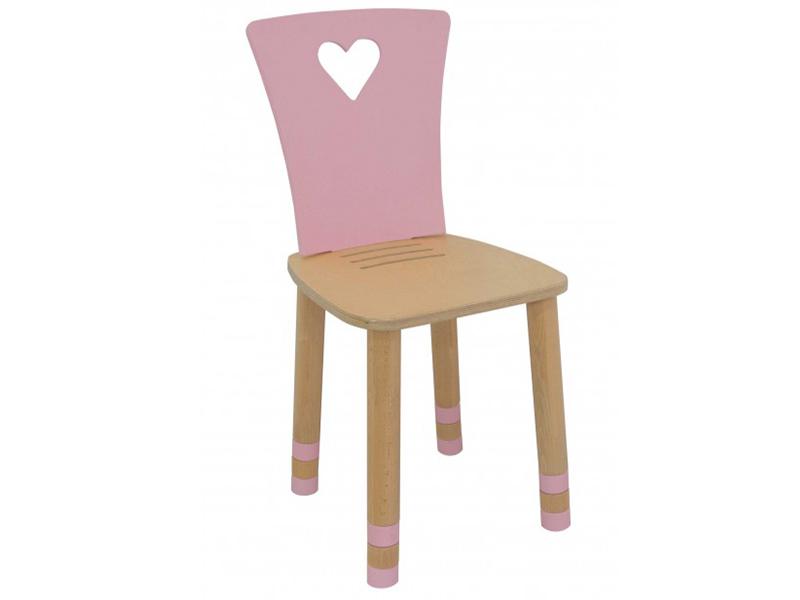 Стул детский регулируемый Sweet Heart розовый