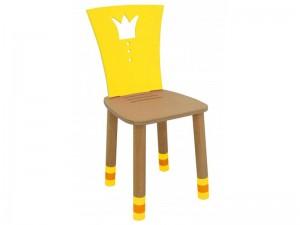Стул детский регулируемый Royal желтый