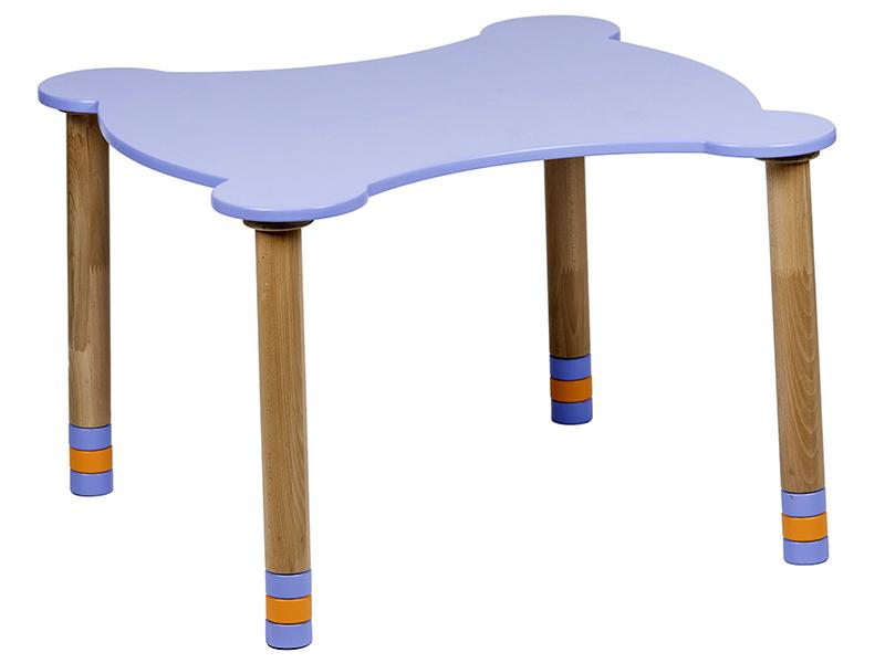 Стол фигурный индиго