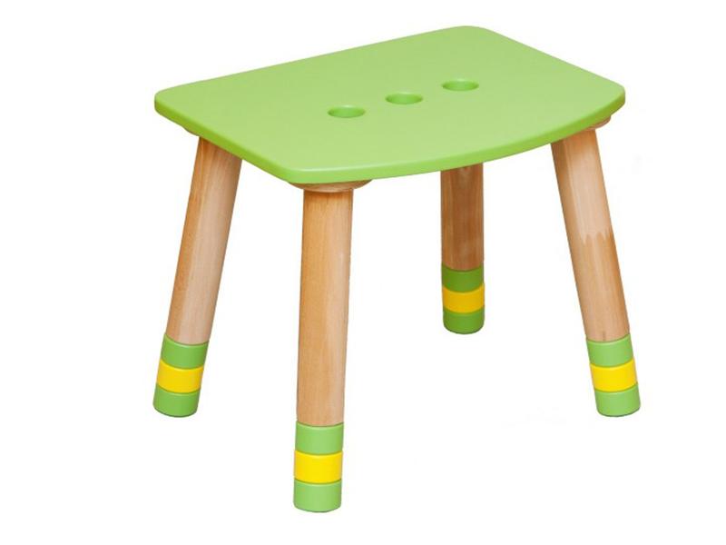 Табурет детский зеленый