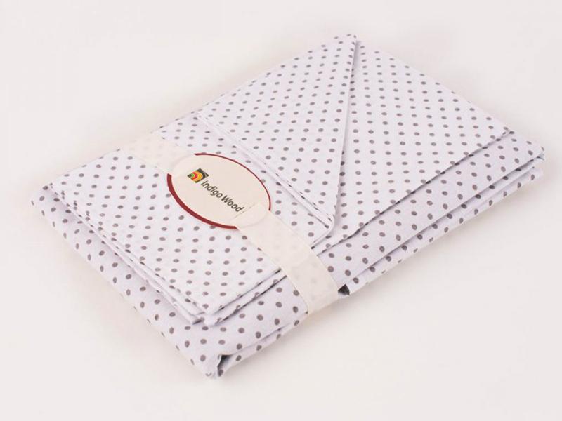 Комплект постельного белья для новорожденных Cool gray