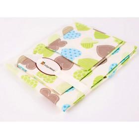 Комплект постельного белья для новорожденных Hearts