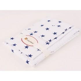 Комплект постельного белья для новорожденных Stars blue