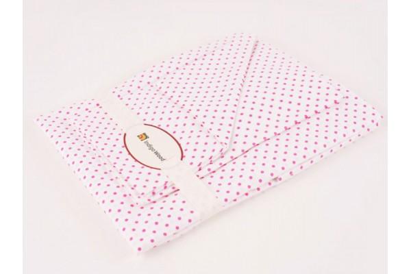Комплект постельного белья для новорожденных Cool pink