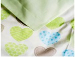 Комплект постельного белья подростковый Hearts