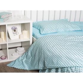 Комплект постельного белья подростковый Sky blue