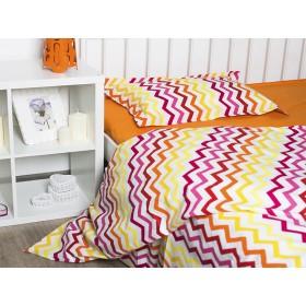 Комплект постельного белья подростковый Wave orange