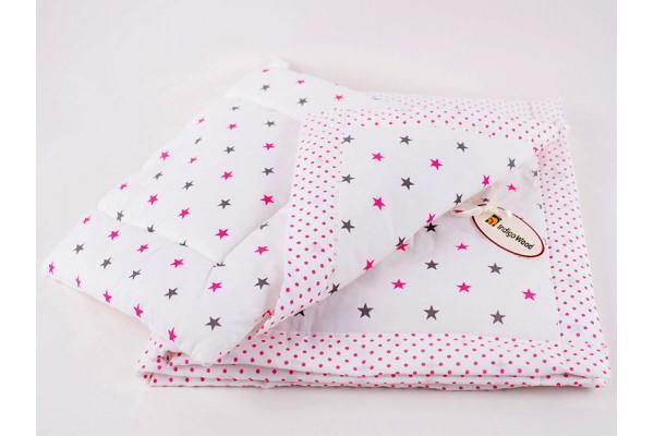 Спальный комплект Stars pink